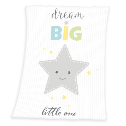 HERDING Kinderdecke Fynn Dream Big 75 x 100 cm