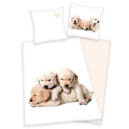 HERDING Biancheria da letto cane cuccioli di cane 135 x 200 cm