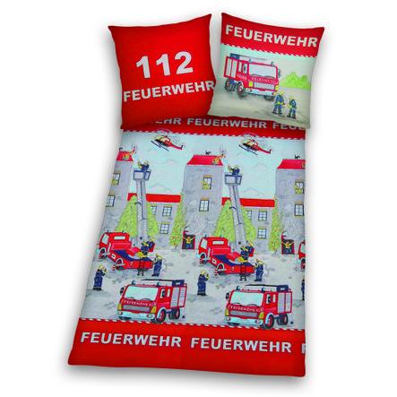 HERDING Bettwäsche Feuerwehr 135 x 200 cm