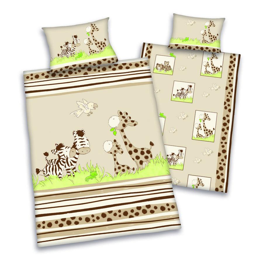 babybest® Bettwäsche Safari 100 x 135 cm