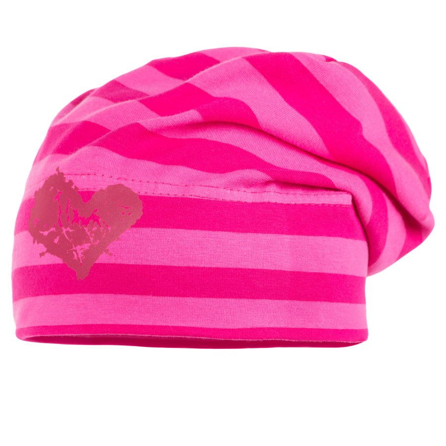 maximo Girls Beanie Jersey sexy pink - dunkelpink