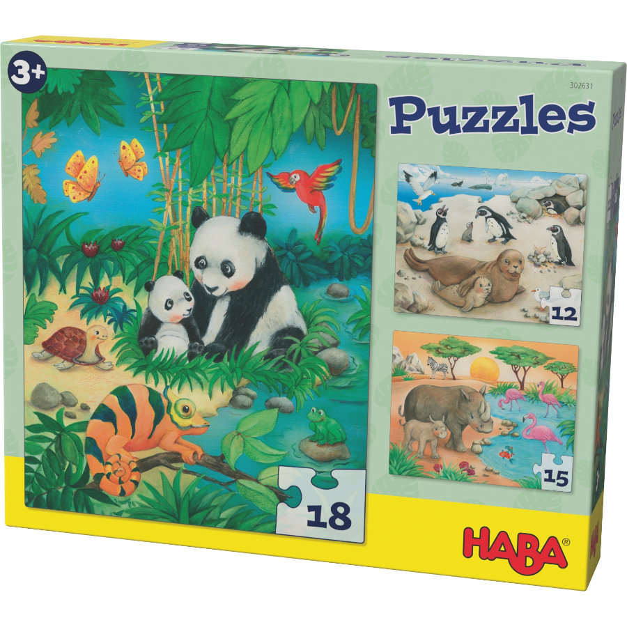 HABA Puzzles Tierfamilien 302631
