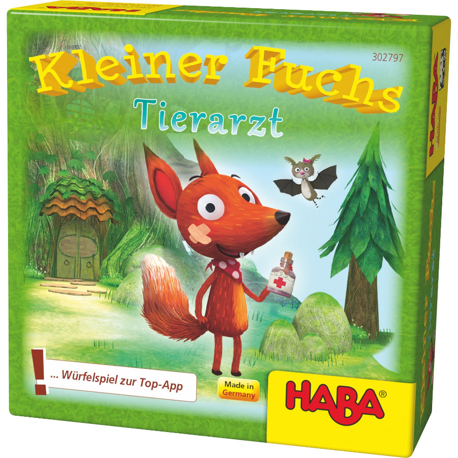 HABA Würfelspiel Kleiner Fuchs Tierarzt 302797