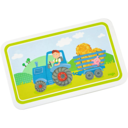HABA Melamin-Brettchen Traktor 302816