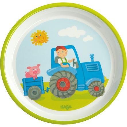 HABA - Tallrik Traktor 302817