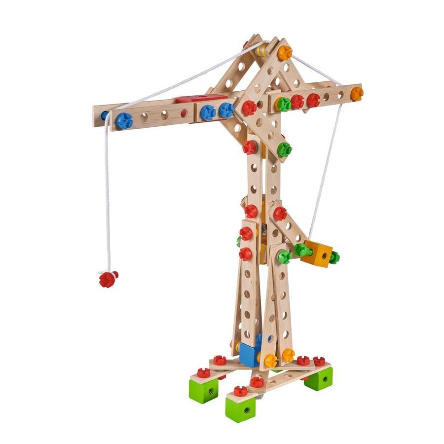Eichhorn Jeu de construction grue, 170 pièces