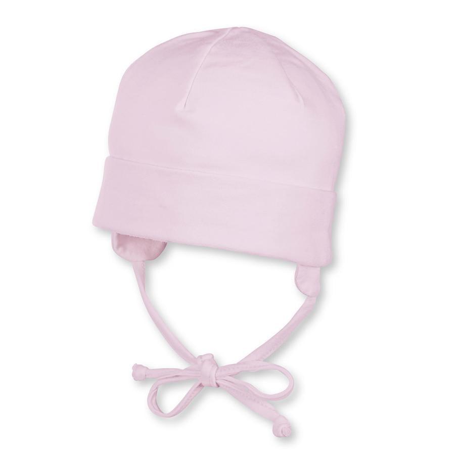 Sterntaler tyttöjen Beanie Jersey vaaleanpunainen