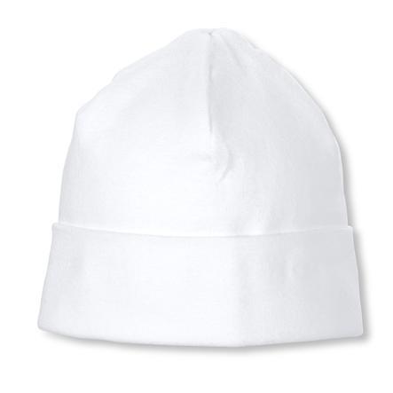 Sterntaler čepička Beanie Jersey bílá