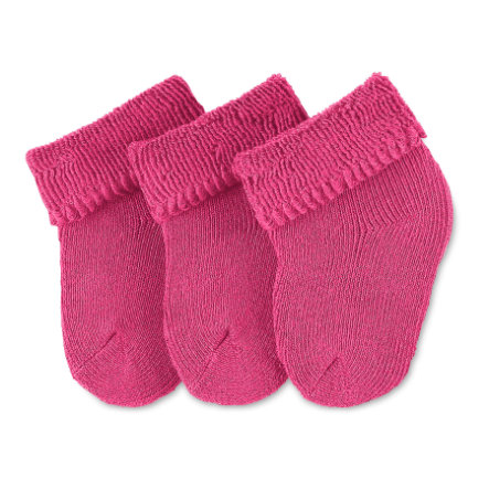 Sterntaler Girls First sokker 3-pakning magenta