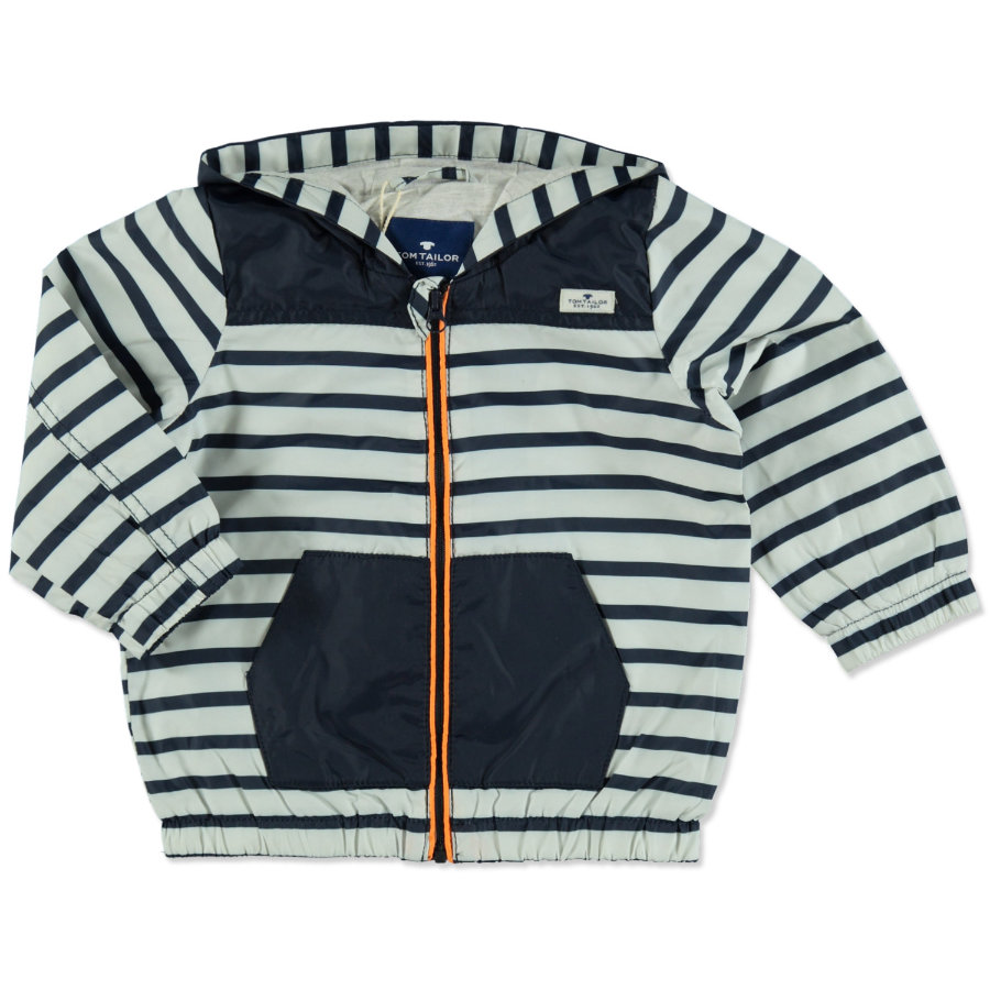 TOM TAILOR Boys Outdoorjacken Striped navy blue