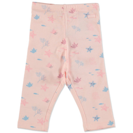 TOM TAILOR Girls Leggings mit Unterwasser-Print Rose Cream