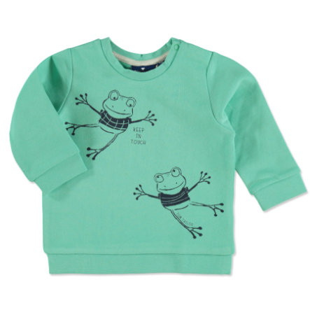 TOM TAILOR Boys Pullover mit Frosch-Print Clean Mint