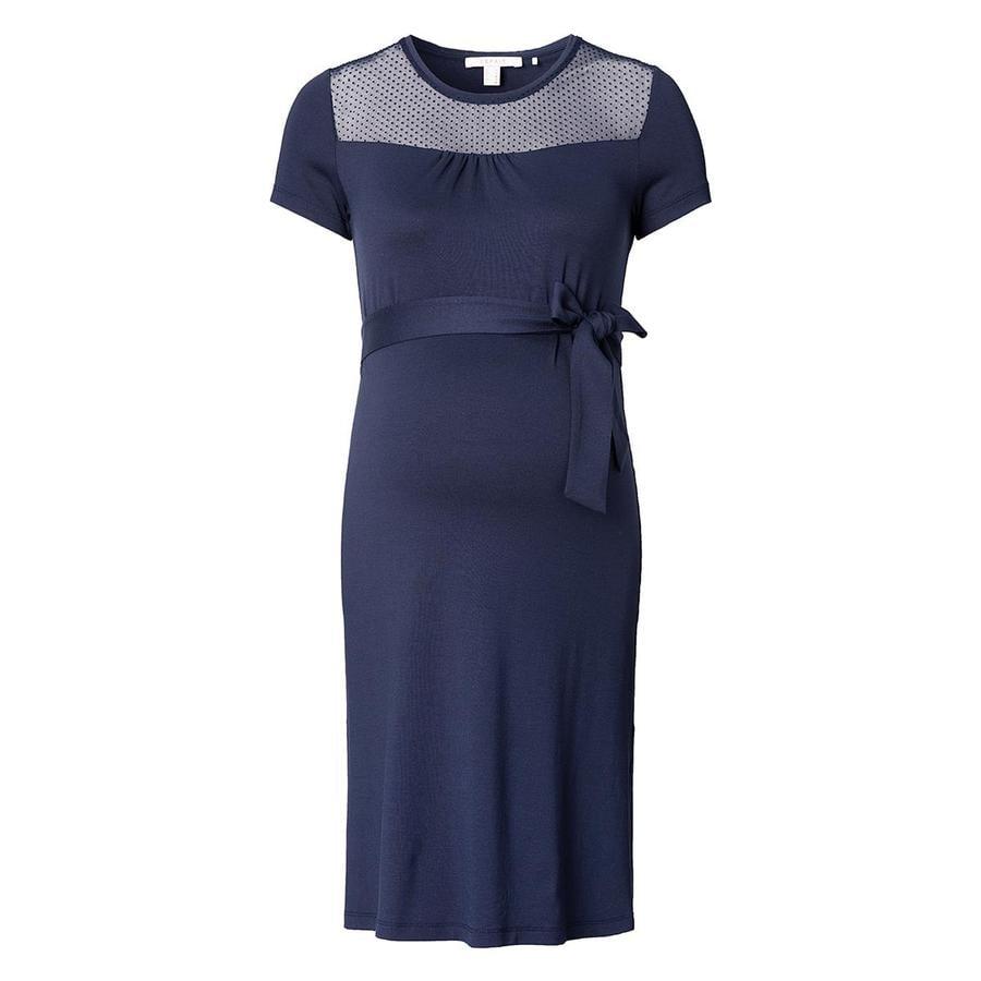 ESPRIT Robe de grossesse bleu nuit