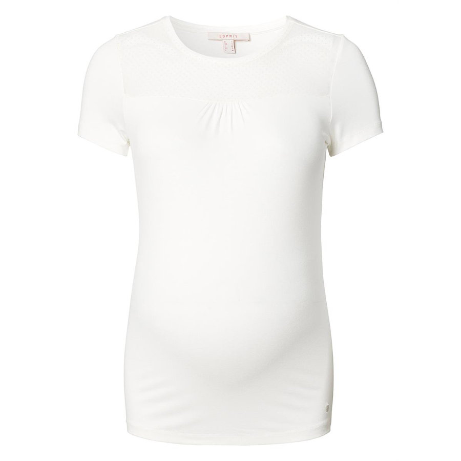 ESPRIT Bluse T-shirt off white