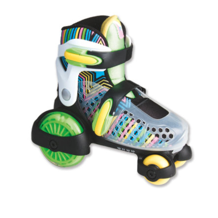 AUTHENTIC SPORTS Muuwmi Quad-Skate Neon, storlek 26-28