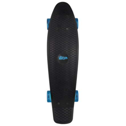 AUTHENTIC SPORTS Skateboard fun, No Rules, nero-trasparente
