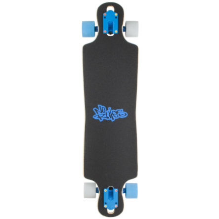 AUTHENTIC SPORTS Longboard compact ABEC 7, No Rules, Birthday Wish List