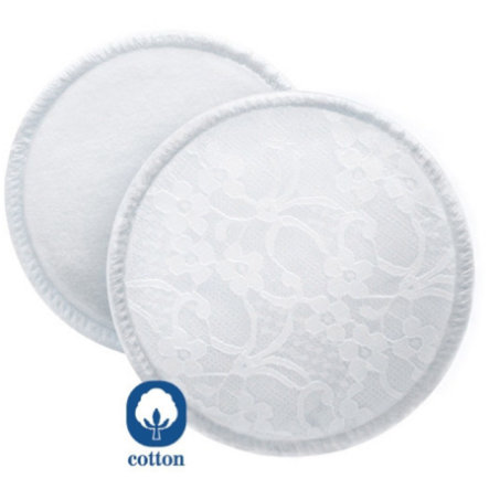 AVENT Washable Breast Pads - 6 Pads and Laundry Bag