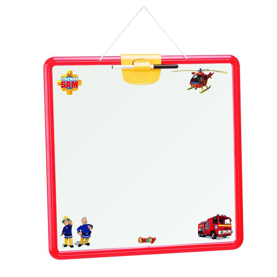 Smoby Feuerwehrmann Sam - Doppelseitige Wandtafel