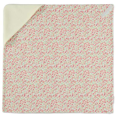 HOBEA Couverture bébé enveloppante été fleurs blanc