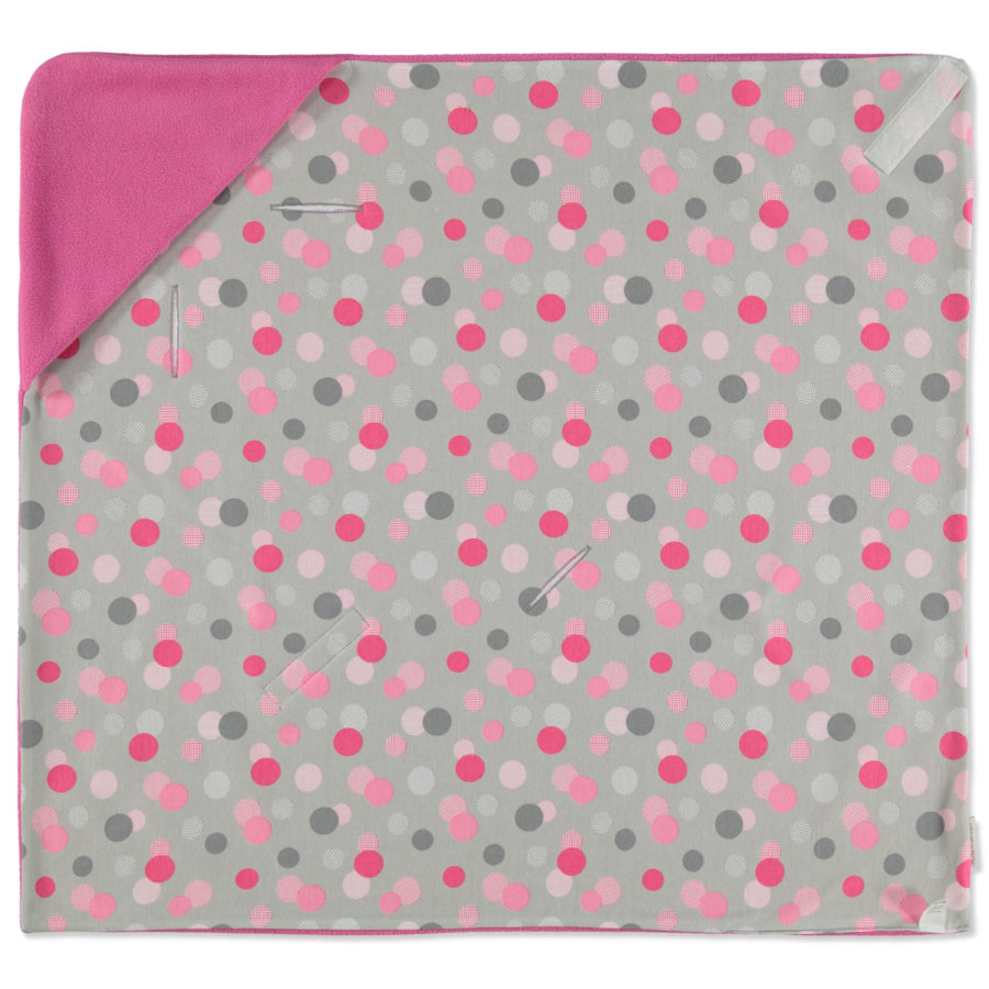 HOBEA-Germania coperta pieghevole estate pink con puntini