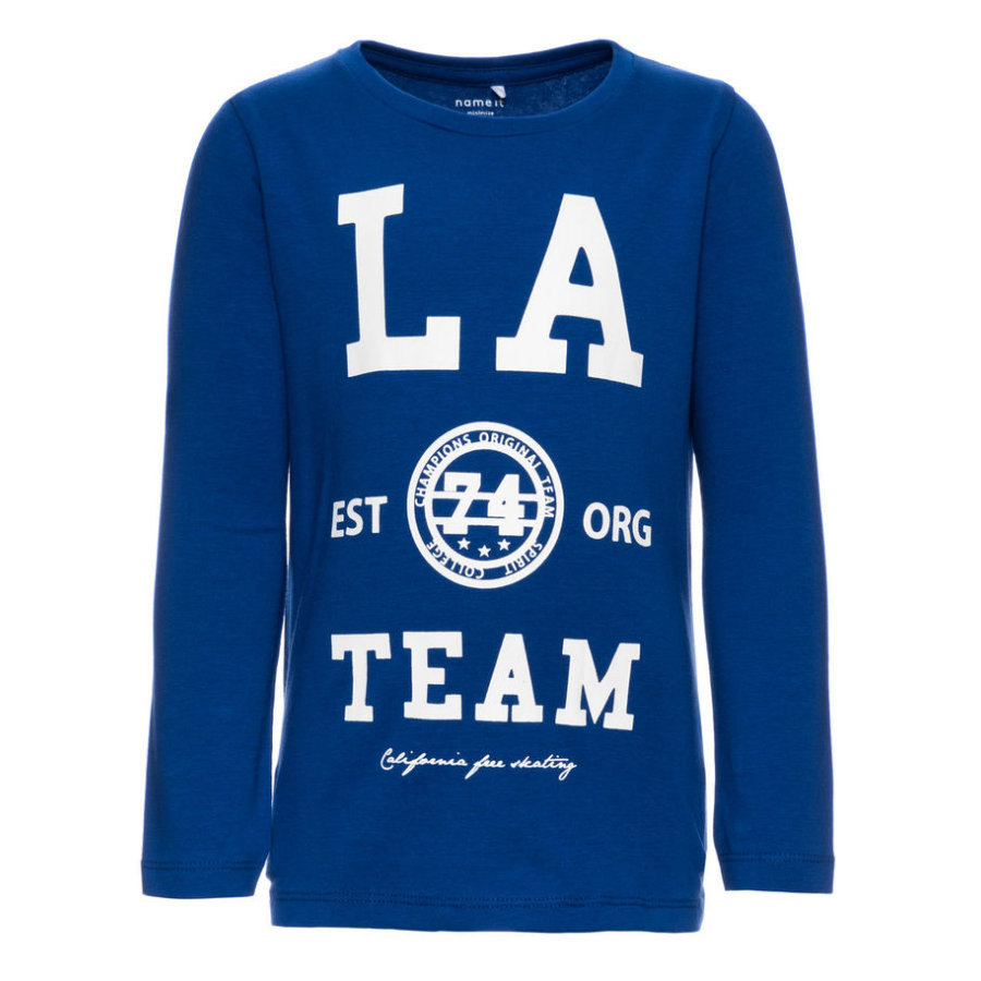 name it Boys Longsleeve Dalbert mazarine blue