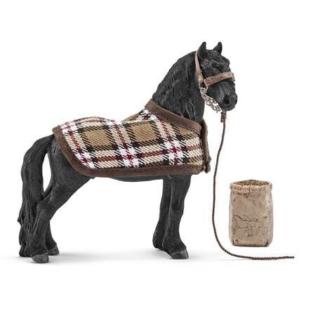 SCHLEICH  Fries paard met verzorgingsset 42269