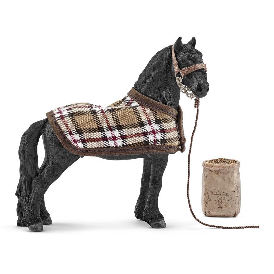 SCHLEICH Hästskötselset Friese 42269