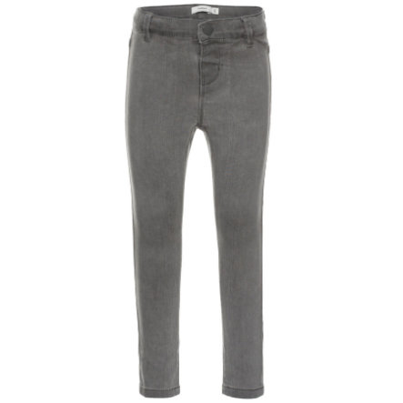 name it Girls Tera light grey denim