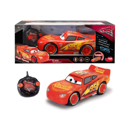 DICKIE Toys Voiture radiocommandée Cars 3 Flash McQueen