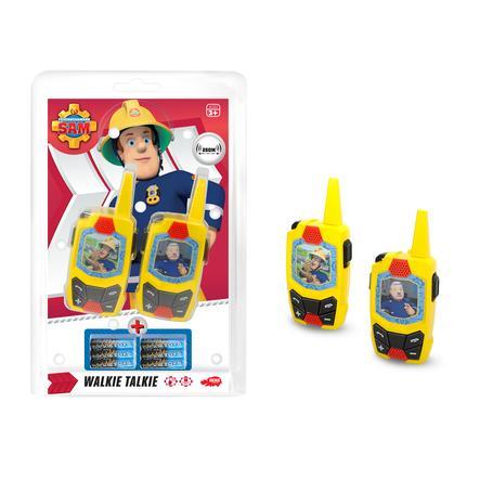 DICKIE Toys Feuerwehrmann Sam - Walkie Talkie