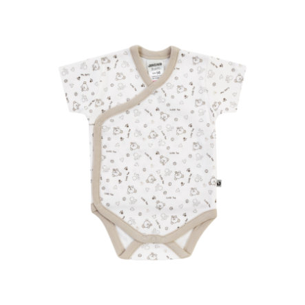 JACKY Wickelbody kurzarm BEAR off-white