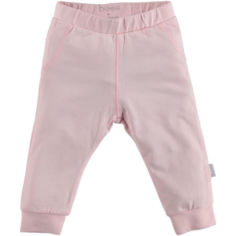 b.e.s.s Spodnie dresowe różowe