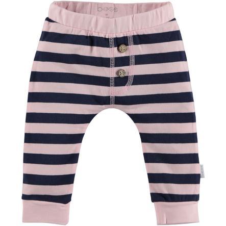 b.e.s.s Spodnie potowe Spodnie Paski różowe