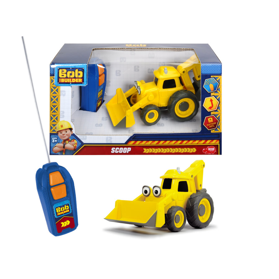 DICKIE Toys RC  RC Bob the Builder Scoop