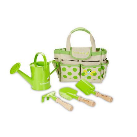 EverEarth® Set de jardinage enfant, sac, outils EE33646