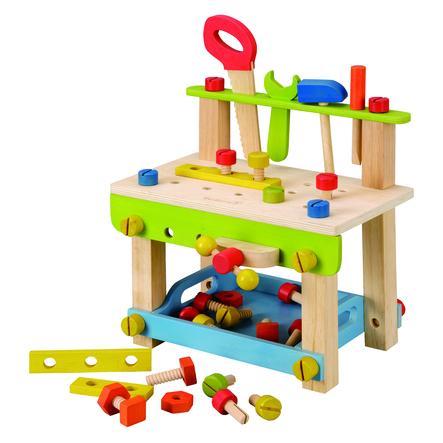 EverEarth® Établi enfant grand avec outils bois 32688