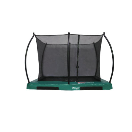 Etan Inground Hi- Flyer 0965 Combi trampolino con rete di sicurezza e scala verd