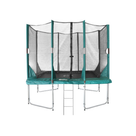 Etan Hi- Flyer 1075 Combi trampolina z siatką zabezpieczającą i drabiną