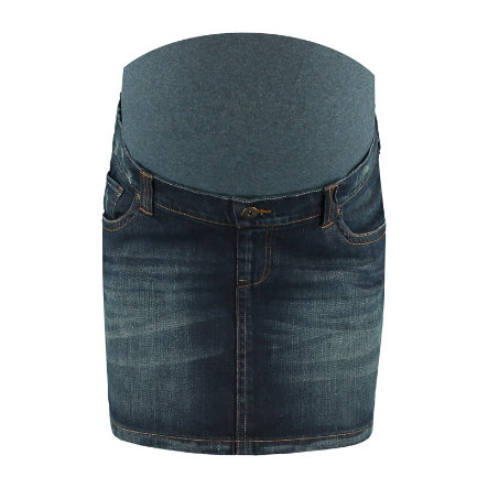 LOVE2WAIT Umstands Jeansrock dark wash