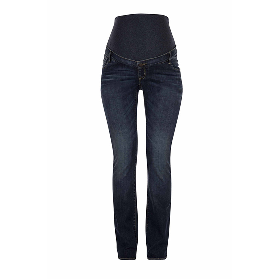 LOVE2WAIT Umstandsjeans Romy Dark Wash - Länge: 36