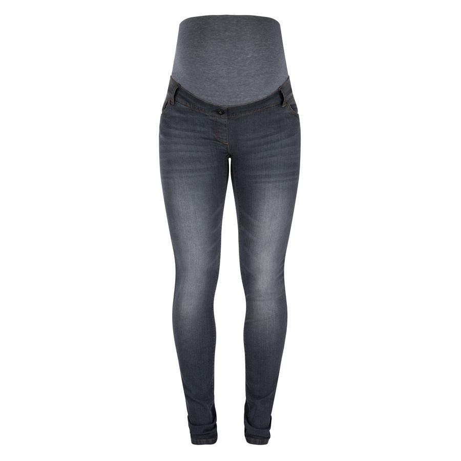 LOVE2WAIT Jeans de maternité Sophia - Longueur : 32 Denim gris