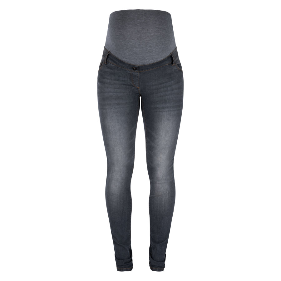LOVE2WAIT Umstandsjeans Sophia -  Länge: 34 Grey Denim