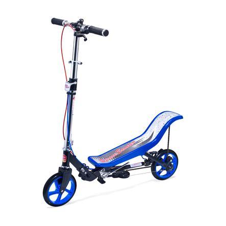 HUDORA Koloběžka Scooter Deluxe X 590 modrá/černá