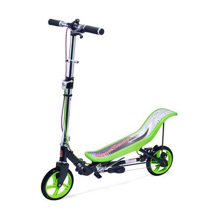 Space Løbehjul®Deluxe X 590 grøn/sort