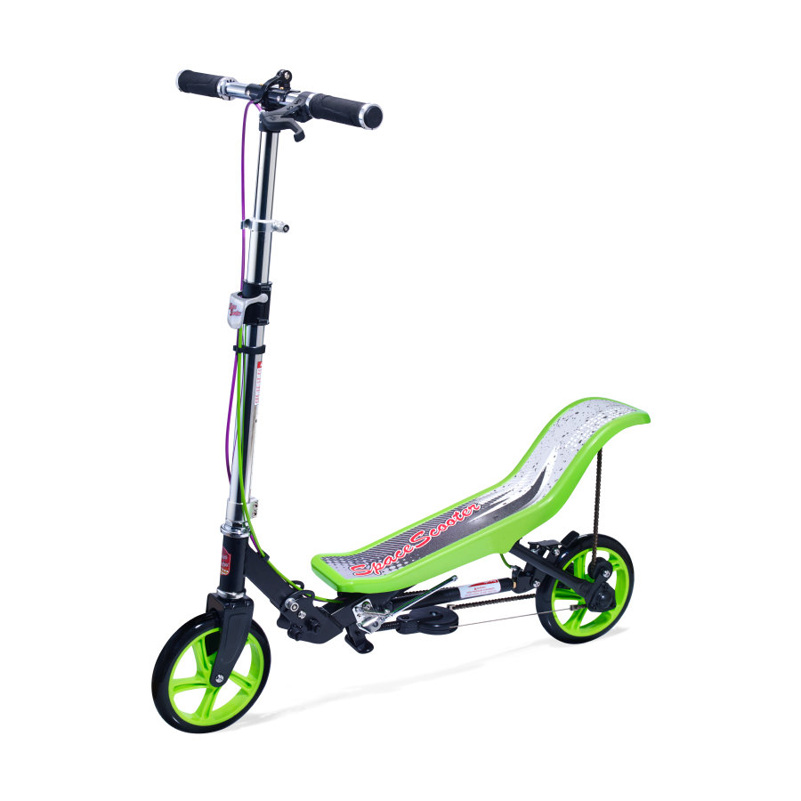 Space Scooter® Deluxe X 590, grønn/svart