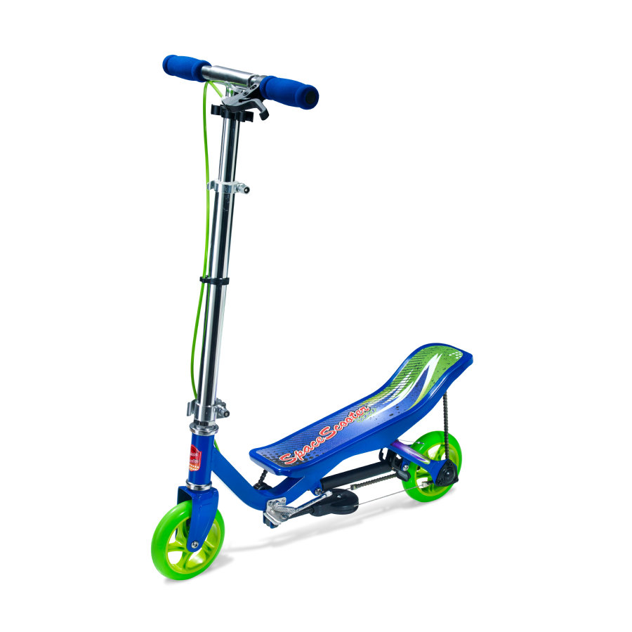 Space Scooter® Patinete Junior X 360 azul