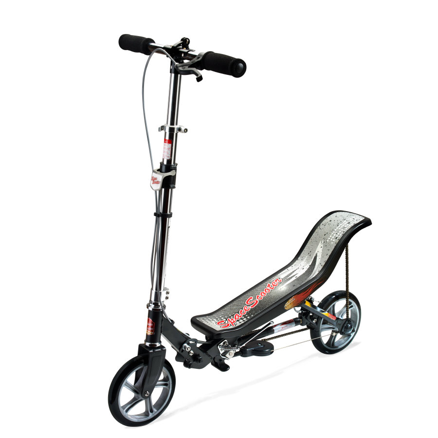 Space Scooter® X 580 nero opaco