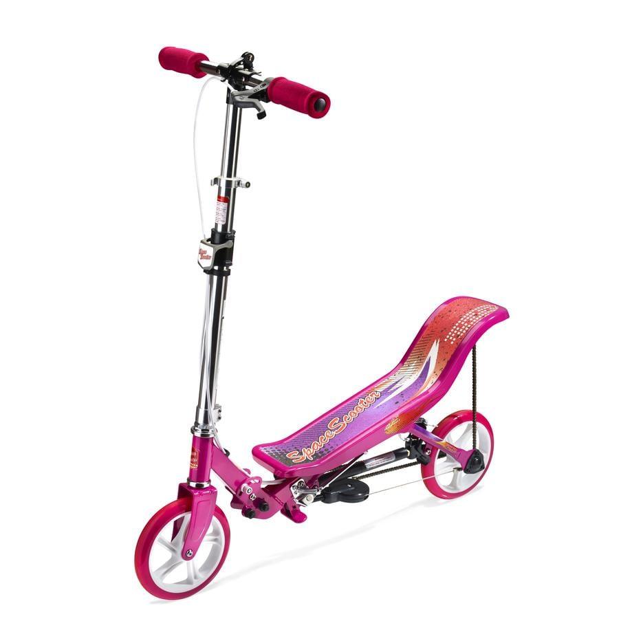 SPACE SCOOTER® Potkulauta X 580, pinkki
