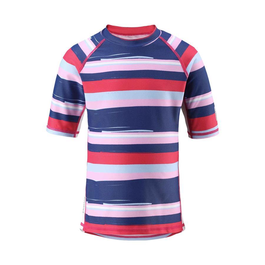 reima T-shirt de bain enfant, protection UV, Fiji, rouge fraise